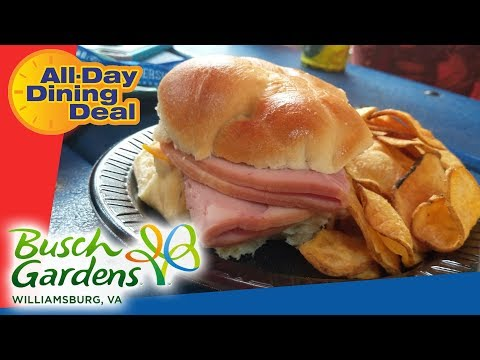 Busch Gardens Williamsburg All-Day Dining Deal and Fun