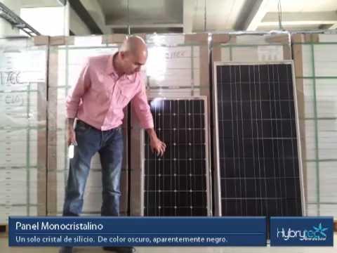Tipos de paneles solares youtube - Tipos de paneles solares ...