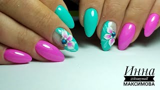 ❤ ЯРКИЙ дизайн для ПОДНЯТИЯ НАСТРОЕНИЯ ❤ коррекция ГЕЛЕВЫХ ногтей ❤ COSMOPROFI ❤ ЛЕПКА на ногтях ❤