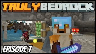AFK XP Grinder! - Truly Bedrock (Minecraft Survival Let's Play) Episode 7