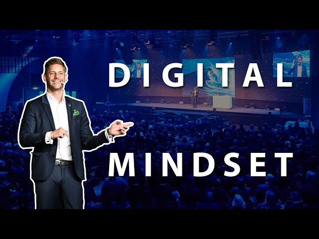 "Inspirational talk  ""Digital Mindset"" - Keynote Speaker Dr. Florian Ilgen"