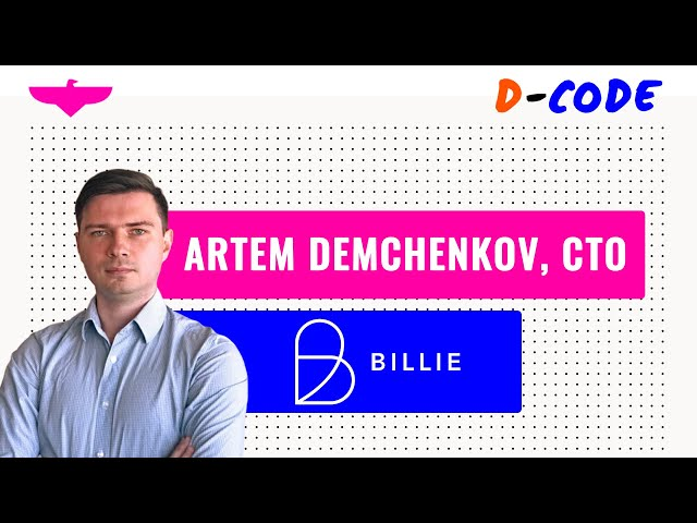 Building & leading a rock-star engineering team 🤜 Artem Demchenkov, CTO at Billie