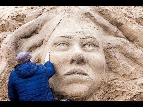 إنطلاق مهرجان النحت على الرمال في بوليفيا  - نشر قبل 2 ساعة