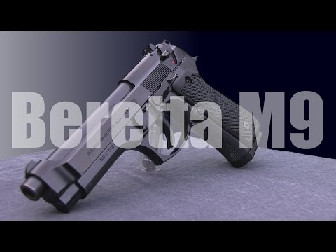 Beretta M9 (After 10,000 Rounds)