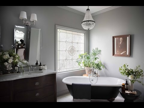 The MASTER BATHROOM Gets A EUROPEAN MAKEOVER!  THE BIG REVEAL!!