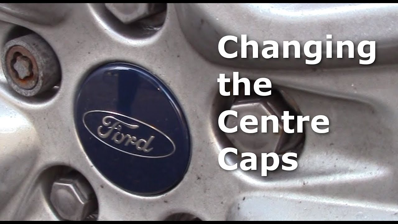 How To Change The Centre Cap On An Alloy Wheel Center Ford Focus Mk2