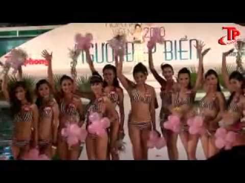MISS VIETNAM 2010 BIKINI (PART 1)
