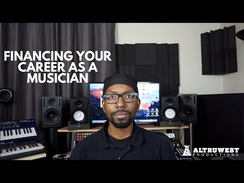 Financing Your Career as a Musician Rappers, Singers, Music Producers