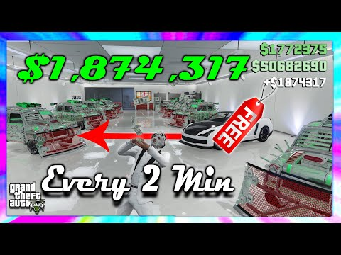 *Facility Glitch is Back* $1,874,317 Every 2 Minutes // Easy GTA Online Money Method -Game Reckless