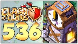 CLASH of CLANS Part 536: UHRENTURM auf LEVEL 2 verbessern