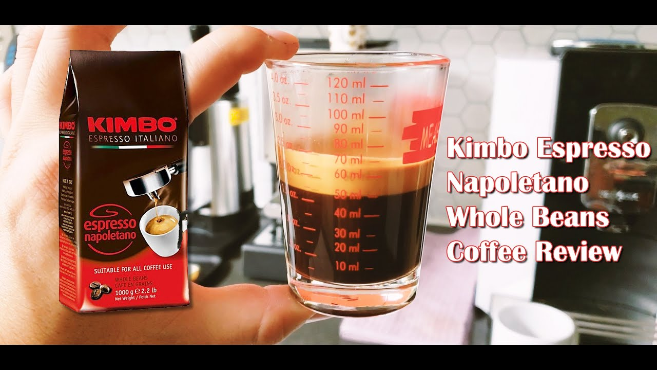 Kimbo Espresso Napoletano Whole Bean Coffee Review
