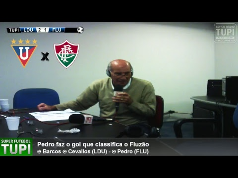 LDU 2 x 1 Fluminense - Oitavas de Final - Copa Sul-Americana - 21/09/2017 - AO VIVO
