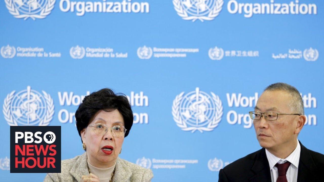 WATCH LIVE: The World Health Organization holds ne