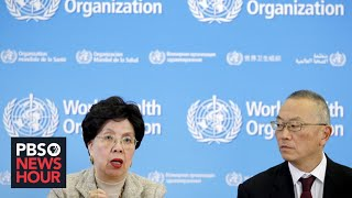 WATCH LIVE: The World Health Organization holds news conference on novel coronavirus