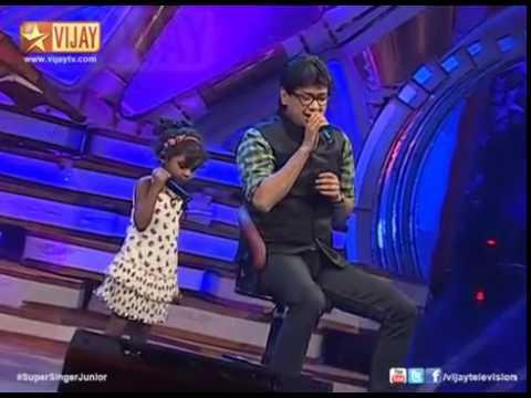 Super Singer Junior   Yellae Lama by Angeline and Vijay Prakash