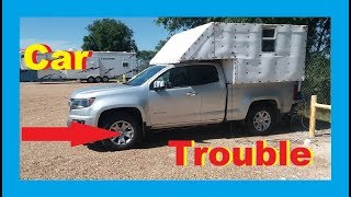 Serious Truck Problems RV Living Full Time / Van Life Nomad / Front End Alignment