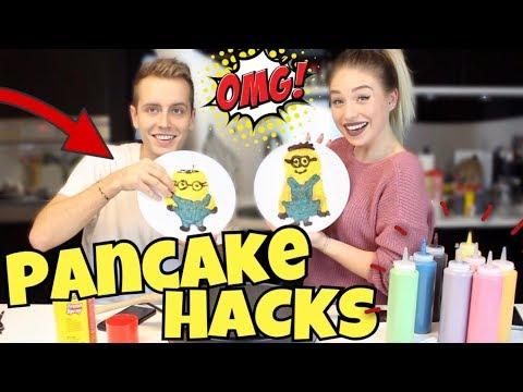 Geilster Pancake Hack ! ( Pancake Art Challenge ) | Julienco
