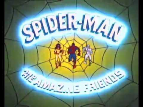 Человек паук и огненная звезда и ледяной человек мультфильм