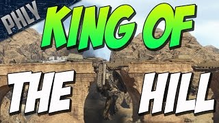 KING OF THE HILL - ITS RAINING TANKS! (War Thunder TANK CUSTOM)