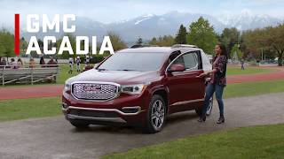 Top 6 features of GMC Acadia