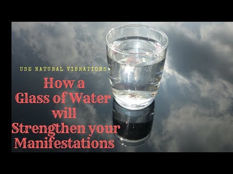 How To Manifest What You Want By Using Water | Pure Manifesting Tool