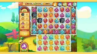 Farm Heroes Saga Level 1689 2 Stars NO companion