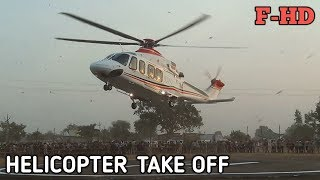 Helicopter Take off