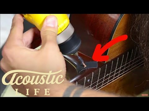 The RIGHT Way to Install a Strap Button on Your Acoustic Guitar