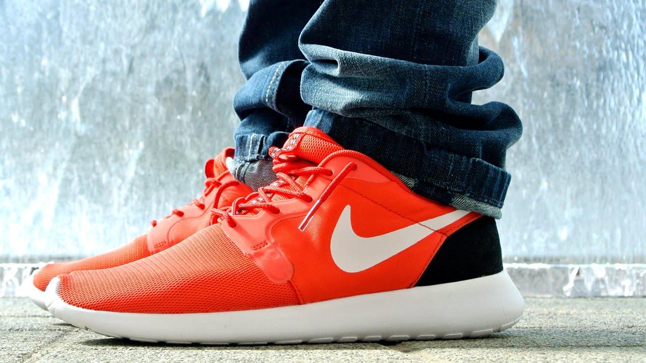 Nike Roshe Run Hyperfuse Rouge À Lèvres Bleu Qs