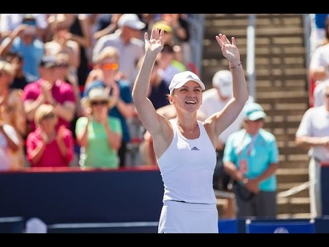 2016 Western and Southern Open Second Round | Simona Halep vs Annika Beck | WTA Highlights