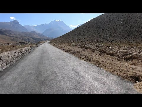 Drive from Jomsom to Muktinath in Paved Road