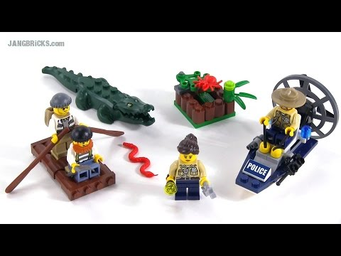 60066 swamp police starter set Lego city
