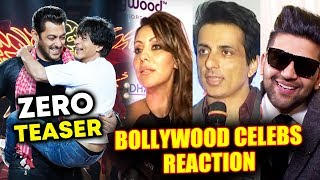 Salman-Shahrukh के ZERO TEASER पर Bollywood Celebs का Reaction