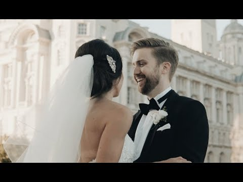 Jenna + Michael's Black Tie Liverpool Waterfront Wedding - Teaser Trailer