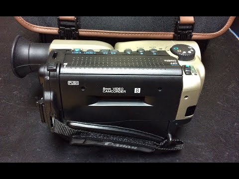 Awesome Canon ES270 8mm Camcorder