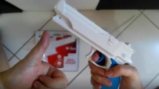 Unboxing da W-Gun para Wii