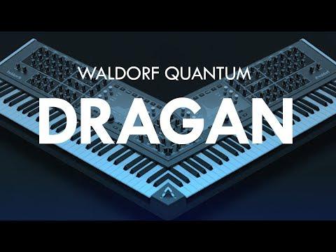 Waldorf Quantum - DRAGAN Custom made preset by CO5MA
