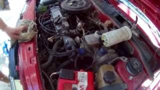 Замена масла в коробке передач и замена тросика спидометра на ВАЗ 21099