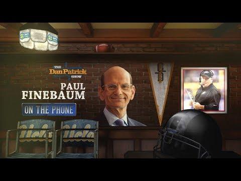 SEC Network's Paul Finebaum Talks Schiano, Jimbo, Chip Kelly & More w/Dan Patrick | Full Interview