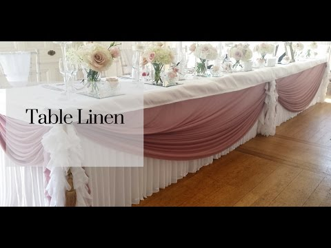 Table Linen Hire Range