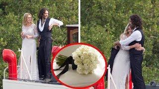 Russell Brand Marries Baby Mama Laura Gallacher at Church Near Their Home