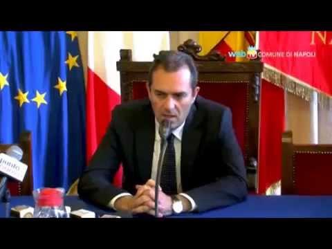 """Napoli - Morte Ciro Esposito, De Magistris: """"Città addolorata"""" (25.06.14)"""