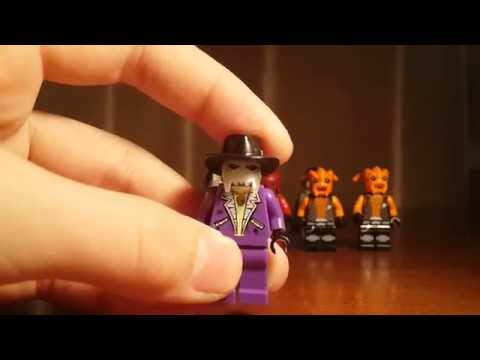 My Lego Space Police Minifigure Collection (обзор)