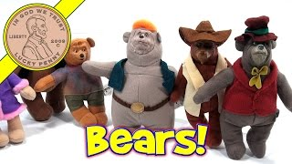 The Country Bears Mcdonald's 2002 Retro Happy Meal Toy Set