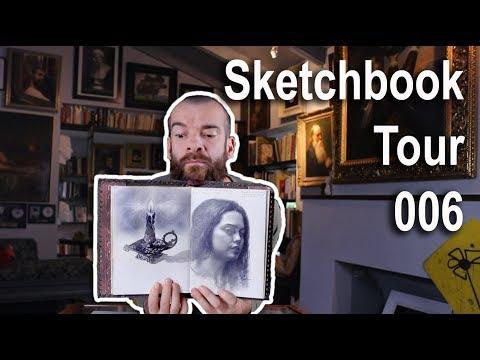 Sketchbook 006. Cesar Santos