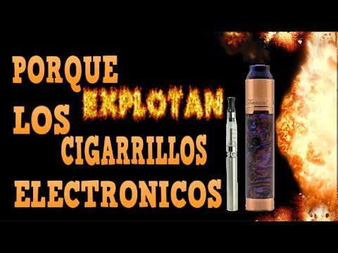 Cuales son los cigarros electronicos que explotan
