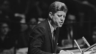 President Kennedy's Final Address to the United Nations General Assembly Program Airs November 17, 2013 at 8:30am, 7:30pm & 10:30pm ET - Video Courtesy of UN Visual Library., From YouTubeVideos