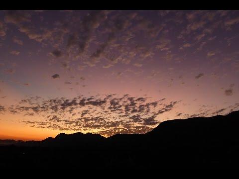 Amazing Time-Lapse of Volcanic Sunset in Zimbabwe