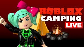 MOST REQUESTED*CAMPING*Again! Roblox LIVE with SallyGreenGamer