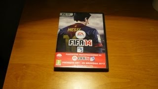 Fifa 14 Pre-order Pack - Unboxing PL